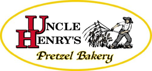 2 Gal. Thank You Gift Tin With 2 Lbs. Of Uncle Henry'S Extra Dark Pretzels front-222965