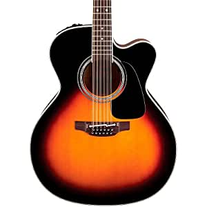 takamine p6jc jumbo cutaway brown sunburst case acoustic electric guitars 12 string acoustic. Black Bedroom Furniture Sets. Home Design Ideas