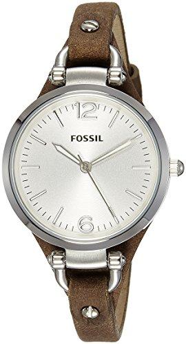 Fossil mujer reloj de pulsera analógico cuarzo piel ES3060