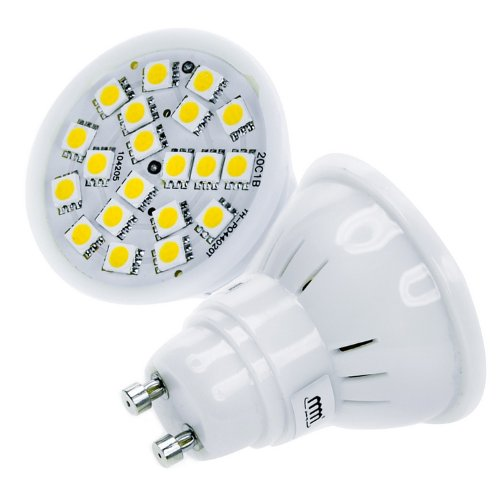 3,5W 20SMDs(5050) GU10 LED Lampe Light Leuchtmittel Strahler Cup warmweiss 300Lumen