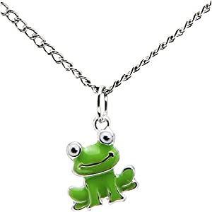 Smiling Frog Necklace