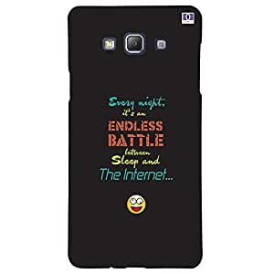 Endless Battle - Mobile Back Case Cover For Samsung Galaxy A5 (2015)