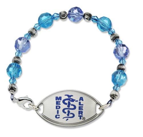 womens-glass-beaded-blue-medical-id-bracelet-percocet-allergy
