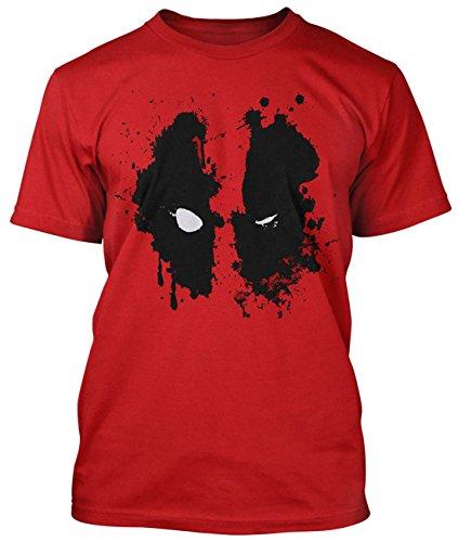 Deadpool -  T-shirt - Uomo rosso Small
