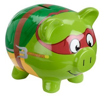 Teenage Mutant Ninja Turtles TMNT Piggy Bank - 1