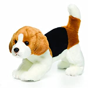 Amazon.com: Nat and Jules Beagle Plush Toy, Large (Discontinued by