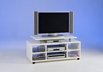 Buying Guide of  Colour Wood TV Stand & CD DVD Media Storage Cabinet Unit on Wheels
