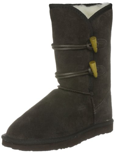 Ukala Women's Taj Lo Chocolate Mid Calf Boots Ukw80013 3 UK