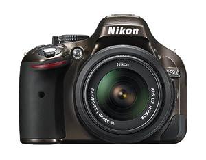 Nikon D5200 24.1 MP CMOS Digital SLR with 18-55mm f/3.5-5.6 AF-S DX VR NIKKOR Zoom Lens (Bronze)