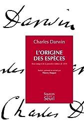 L'origine des espèces : Texte intégral de la première édition de 1859
