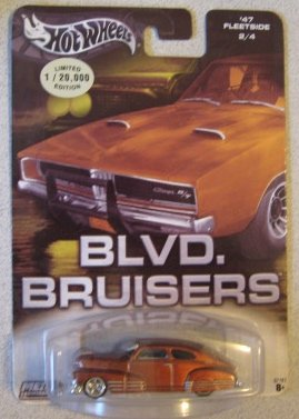Hot Wheels Blvd. Bruisers '47 Fleetside BRONZE - 1