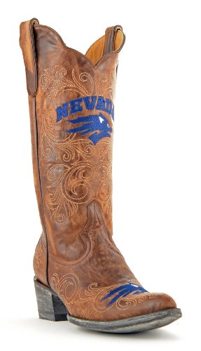 NCAA Nevada Wolf Pack Women's 13-Inch Gameday Boots, Brass, 11 B (M) US (Nv Wolf Pack compare prices)