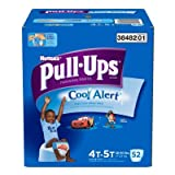 Huggies Pull-Ups Training Pants with Cool Alert for Boys, 4T-5T 52 ea