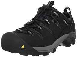 KEEN Utility Men\'s Atlanta Cool Steel Toe Work Shoe,Black,10 EE US