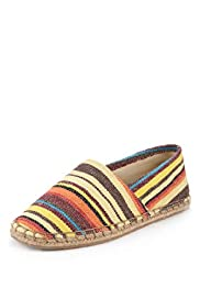 Slip-On Striped Espadrilles