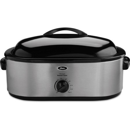 Oster 18-Quart 22-Pound Stainless Steel Roaster Oven with Removable 3-Bin Buffet Server (Oster Rotisserie Oven compare prices)