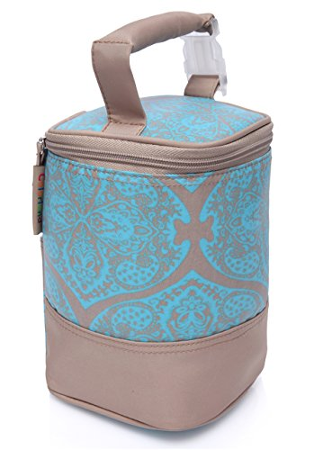 Best Multi-Bottle, Baby Bottle Bag, Aluminum Insulation Safely Keeps liquid Warm/Cold For Hours, Clip-On For Hands Free / Worry Free On The Go Travel Baby Feeding, The Sturdy Tote Bag You Can Trust (Baby Bottle Cooler 4 Bottles compare prices)