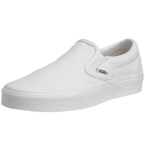 Vans U CLASSIC SLIP-ON Sneaker, Unisex Adulto, Bianco (True White), 43