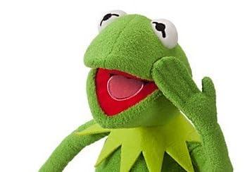 Disney ディズニー Muppets Kermit Plush ぬいぐるみ 約40cm ザ・マペッツ カーミット 並行輸入品