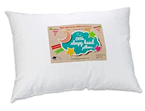 Toddler Pillow - Soft Hypoallergenic - Best Pillows for Kids! Better Neck Support and Sleeping! They Will Take a Better Nap in Bed, a Crib, or Even on the Floor at School! Makes Travel Comfier in a Car Seat or on an Airplane! Backed by Our 90-Day No-Questions Asked Guarantee!