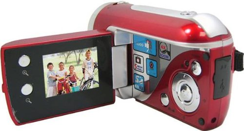Jazz Video Recorder with Camera (Black or Red) - Digital Camcorder DV140