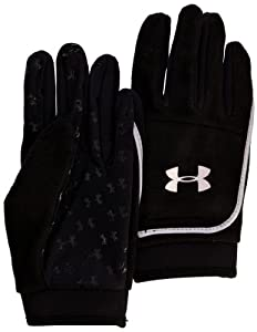 Under Armour UA Fleece Gloves Womens Size Black