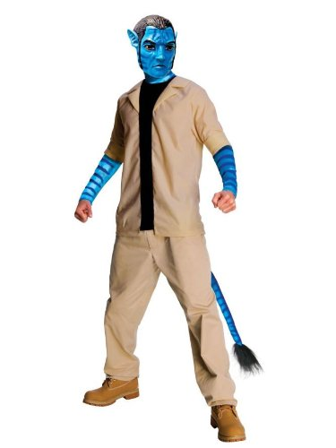 Avatar Movie Costumes Jake Sulley Costume Futuristic Costume