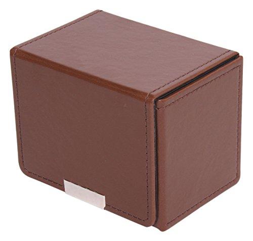 Aclass 合皮製カードケース(ブラウン)
