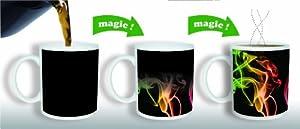 Amazing New Heat Sensitive Color Changing Coffee Mug | Good Father's Day Gift Idea by Magic Mug
