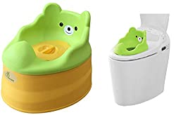 Tiny Tots - Adaptable Potty Training Seat (Green Yellow) from R for Rabbit