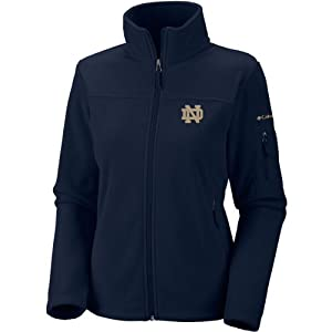 NCAA Notre Dame Fighting Irish Ladies Give and Go FZ T-Shirt by Columbia