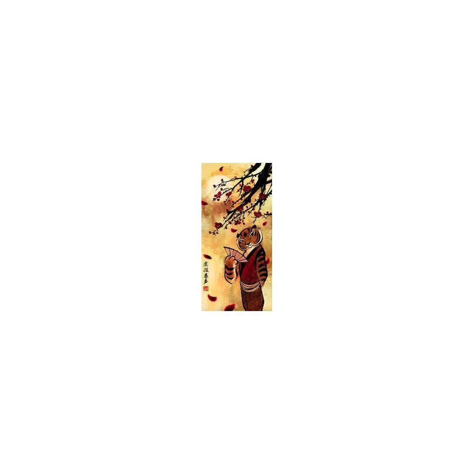 Tigress DreamWorks Animation Fine Art by Wendi Chen