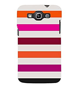 Girly Lovely Lines Cute Fashion 3D Hard Polycarbonate Designer Back Case Cover for Samsung Galaxy Quattro Duos :: Samsung Galaxy Grand Quattro :: Samsung Galaxy Win Duos I8552