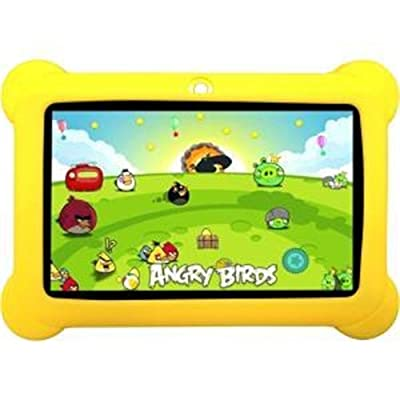 "Zeepad KIDS 7"" 4GB Android 4.4 Quad Core Five Point Multi Touch Tablet PC, Kids Edition, Yellow"