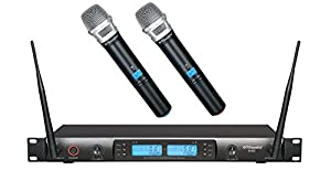 GTD Audio G-622H 200 Channel UHF Professional Wireless microphone Mic System from GTD Audio Inc