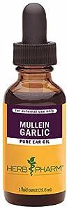 Herb Pharm Mullein/Garlic Herbal Ear Drop Oil - 1 Ounce