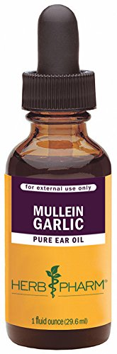 Herb Pharm Mullein/Garlic Herbal Ear Oil - 1 Ounce