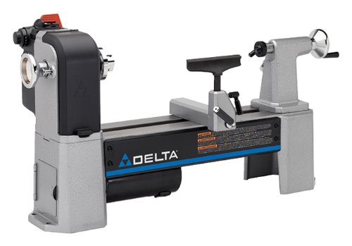 Link to Delta Industrial 46-460 12-1/2-Inch Variable-Speed Midi Lathe