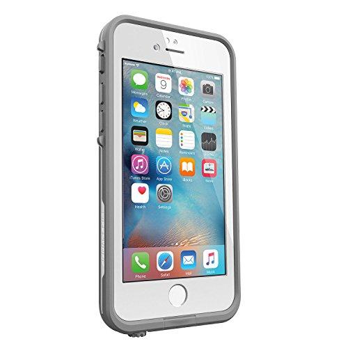 【日本正規代理店品・iPhone本体保証付】LIFEPROOF 防水 防塵 耐衝撃ケース fre iPhone6/6s AVALANCHE WHITE IP-68 MIL STD 810F-516 77-52564