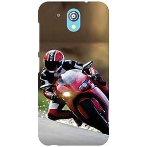 HTC Desire 526G Plus Back cover - High Speed Designer Cases