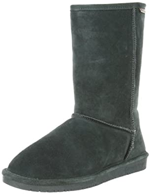 "BEARPAW Women's Emma 10"" Shearling Boot,Evergreen,6 M US"