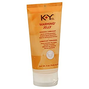 K-Y Warming Jelly Personal Lubricant, 5-Ounce Tubes