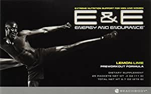 Beachbody Energy and Endurance Pre-Workout Supplement - 30 Day Supply - Packets
