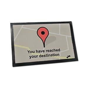 doormat   you have reached your destination amazon ca