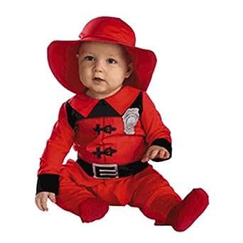 Amazon.com: Infant Baby Fireman Halloween Costume (3-12