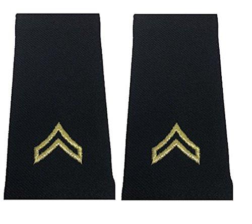Army Uniform Epaulets - Shoulder Boards E-4 CORPORAL (Shoulder Boards compare prices)