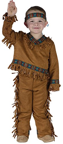 Baby Boys - American Indian Boy Toddler Costume 24-2T Halloween