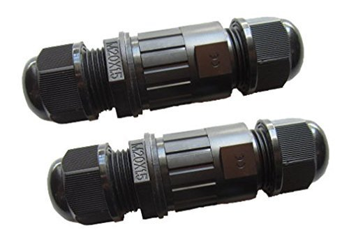 coolwest-2-pack-ip68-m16-black-plastic-waterproof-cable-gland-connector-cable-range-4-7mm-shielded-f