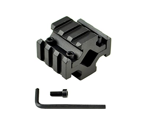 Best Price! Sniper® Universal 4 Picatinny Four Sided 3 Slot Barrel Mount for Tactical Flashlight or...