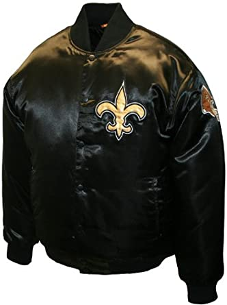 NFL Mens New Orleans Saints Prime Satin Jacket by MTC Marketing, Inc